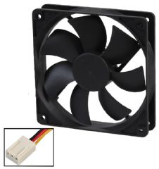 EVERCOOL EC12025M12BA-25103P  12Cm Fan - 3 Pin